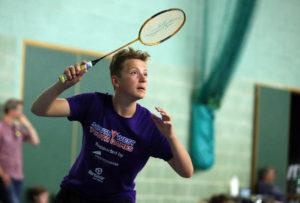 Badminton at Sotuh West Youth Games - PPA-UK