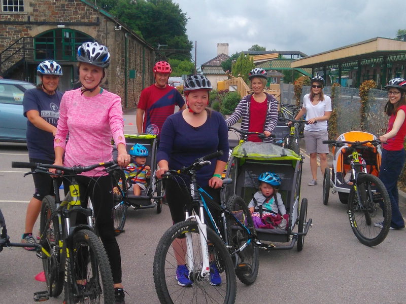 Image: Active Mums Cycling