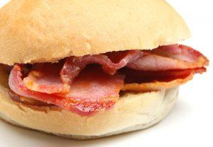 Image: Bacon bap special